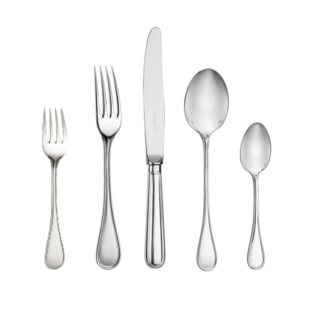 ALBI Silver Plated 5 Piece Place Setting - For 1 Person