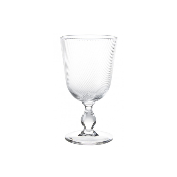 Juliska Arabella Clear Goblet - Le Papillon Gallery