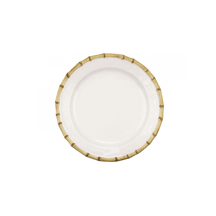 Juliska Classic Bamboo Natural Dinner Plate