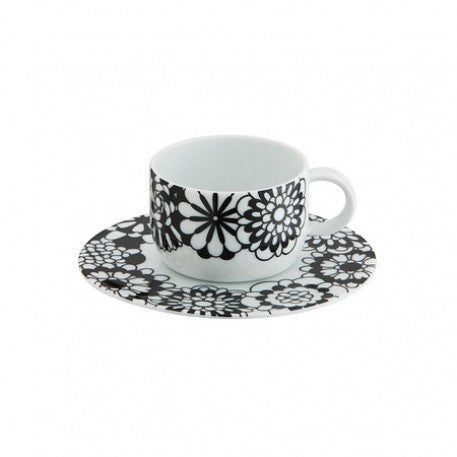 Missoni Bianconero Coffee Cup and Saucer