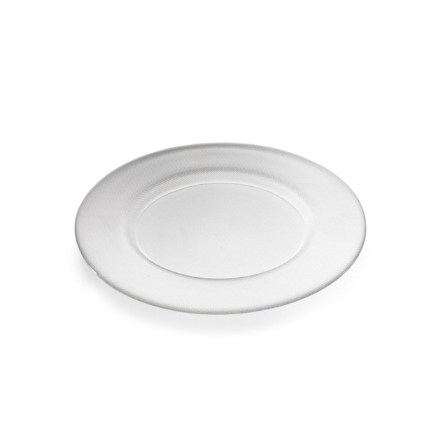 Vista Alegre Bicos Charger Plate Clear