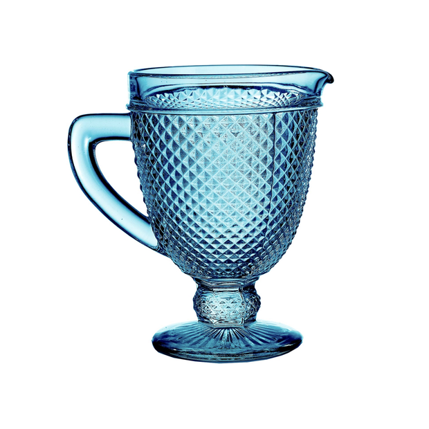 Vista Alegre Bicos Pitcher Blue