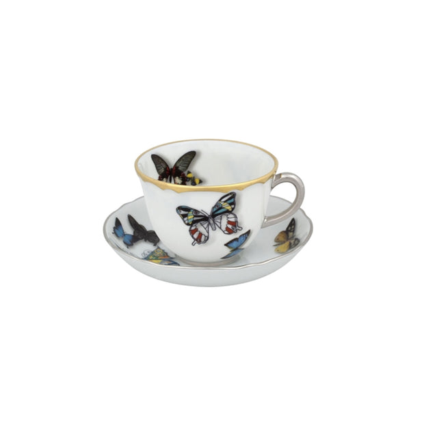 Christian Lacroix Butterfly Parade coffee cup - Le Papillon Gallery