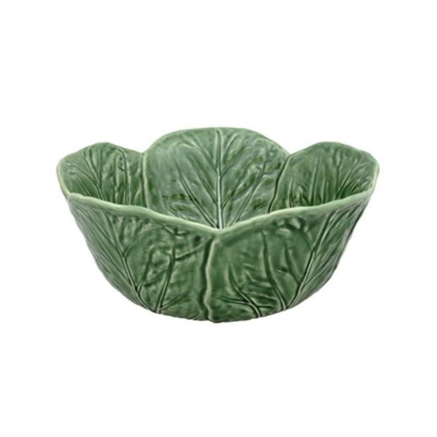 Bordallo Pinheiro Salad Bowl 29,5 Green - Le Papillon Gallery
