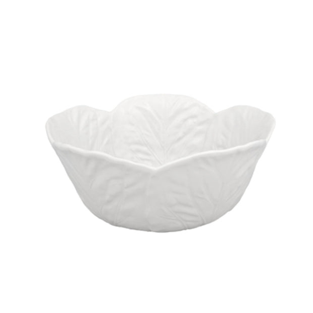 Bordallo Pinheiro Salad Bowl 29,5 White - Le Papillon Gallery