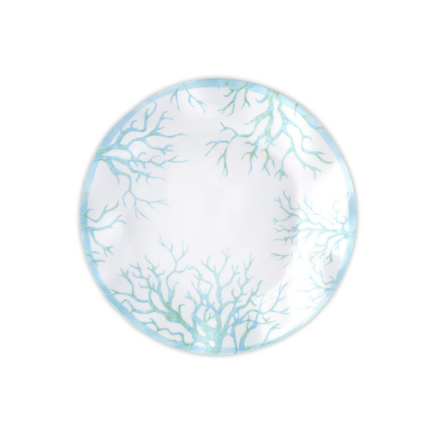 Q Squared Captiva Round Dinner Plate - Le Papillon Gallery