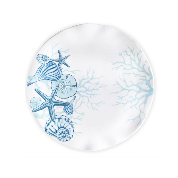 Q Squared Captiva Round Platter - Le Papillon Gallery