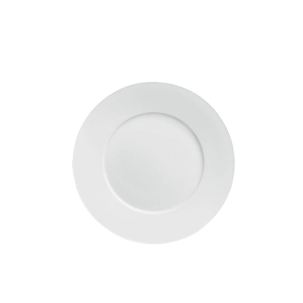 Carlo White Breakfast Plate