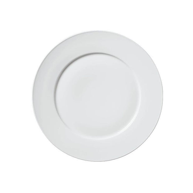 Carlo White Dinner Plate - Le Papillon Gallery