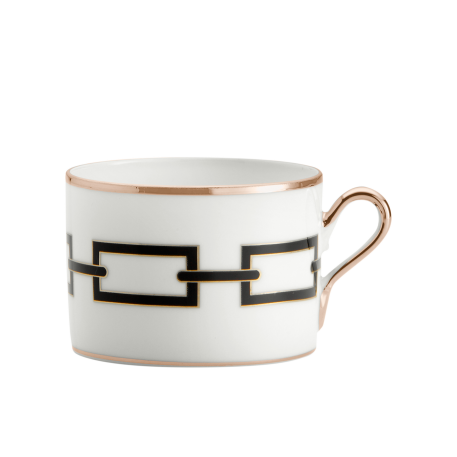 Richard Ginori Catene Nero Tea Cup