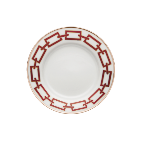 Catene Scarlatto Bread Plate - Le Papillon Gallery