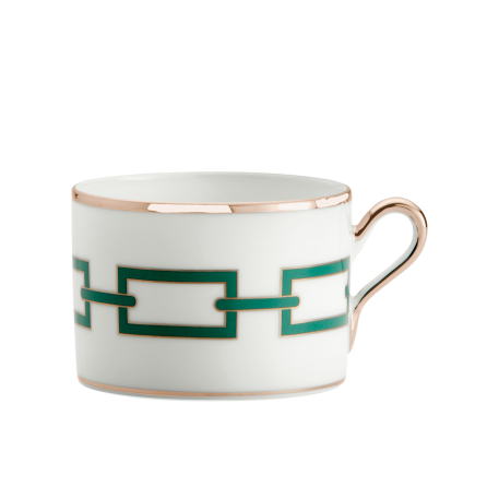 Richard Ginori Catene Smeraldo Tea Cup - Le Papillon Gallery