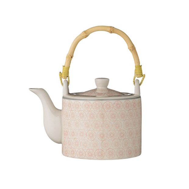 Bloomingville Ceramic Cecile Tea Pot - Le Papillon Gallery