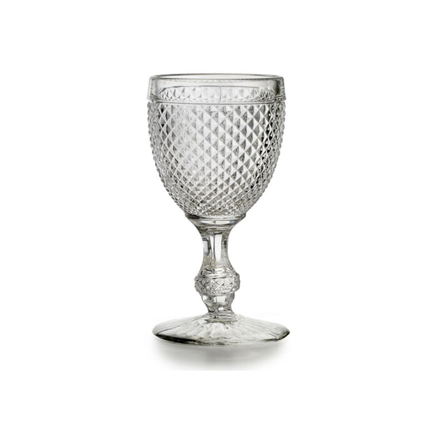 Vista Alegre Bicos Clear Water Goblets (set of 4)