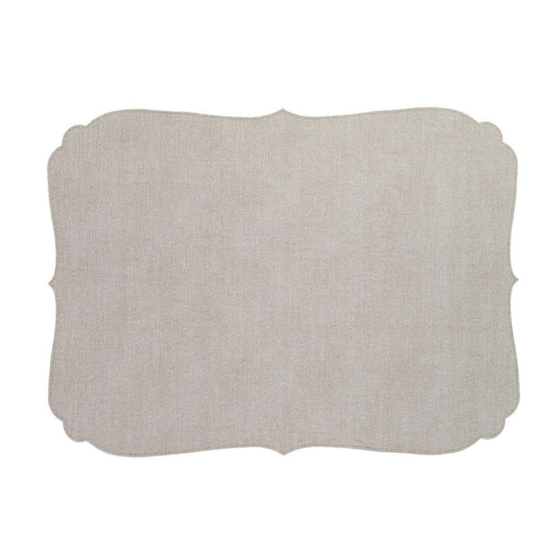Curly Beige Placemat - Le Papillon Gallery