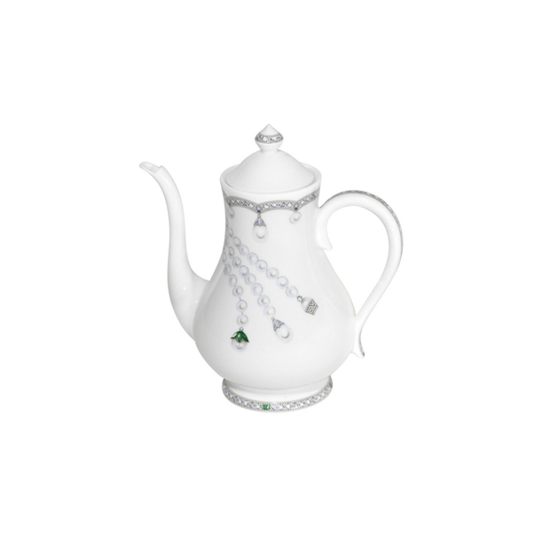 Fradkof Emerald Tea/Coffee Pot - Le Papillon Gallery