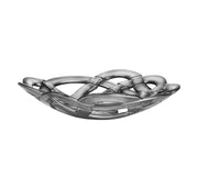 Basket Bowl (silver, Large) - Le Papillon Gallery