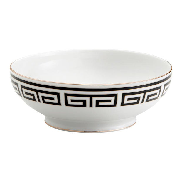 Richard Ginori Laberinto Nero Salad Bowl - Le Papillon Gallery
