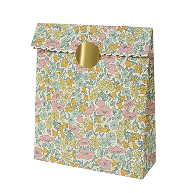 Meri Meri Liberty Poppy & Daisy Paper Bag - Le Papillon Gallery