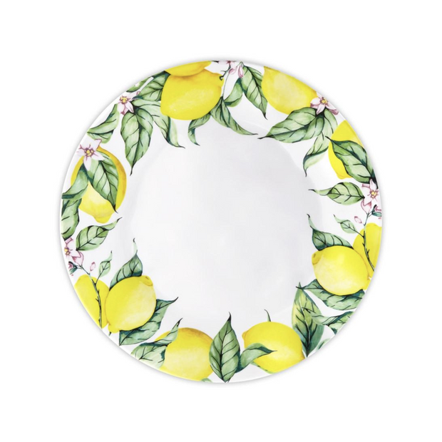 Limonata Round Dinner Plate - Le Papillon Gallery