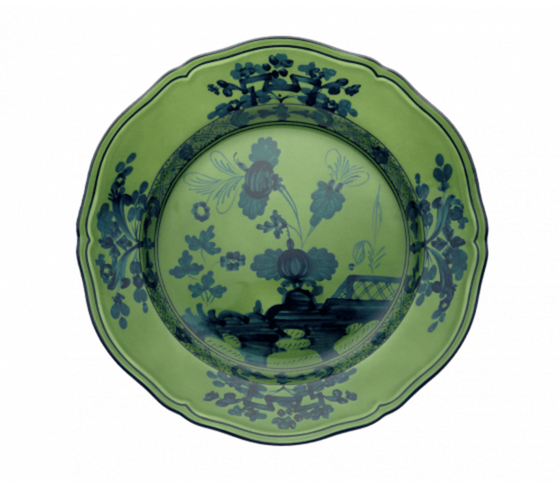 Oriente Italiano Malachite Dinner plate - Le Papillon Gallery