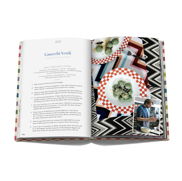 Missoni cookbook - Le Papillon Gallery
