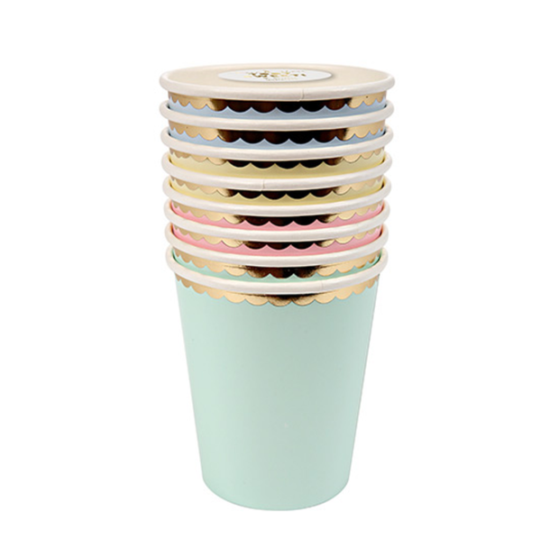 Meri Meri Pastel Party Cups - Le Papillon Gallery