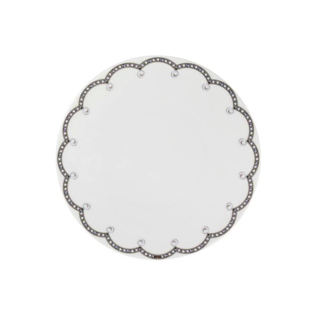 Fradkof Pearls Dinner Plate