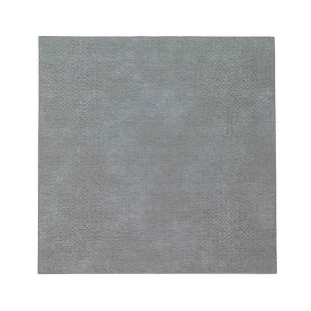 "Pronto Gray 15"" Sq Placemat"