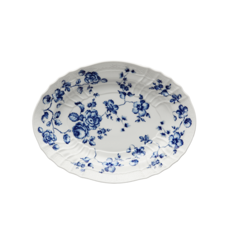 Richard Ginori Rose Blu Oval Platter - Le Papillon Gallery