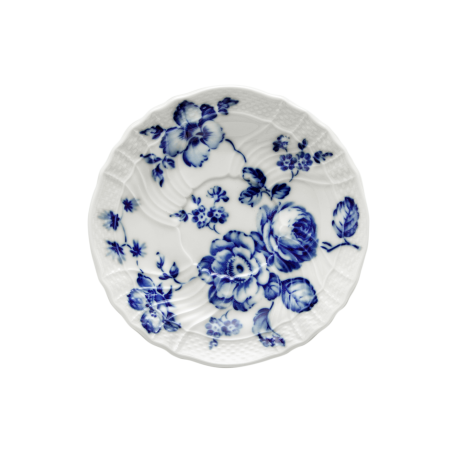 Richard Ginori Rose Blu Teacup Saucer - Le Papillon Gallery