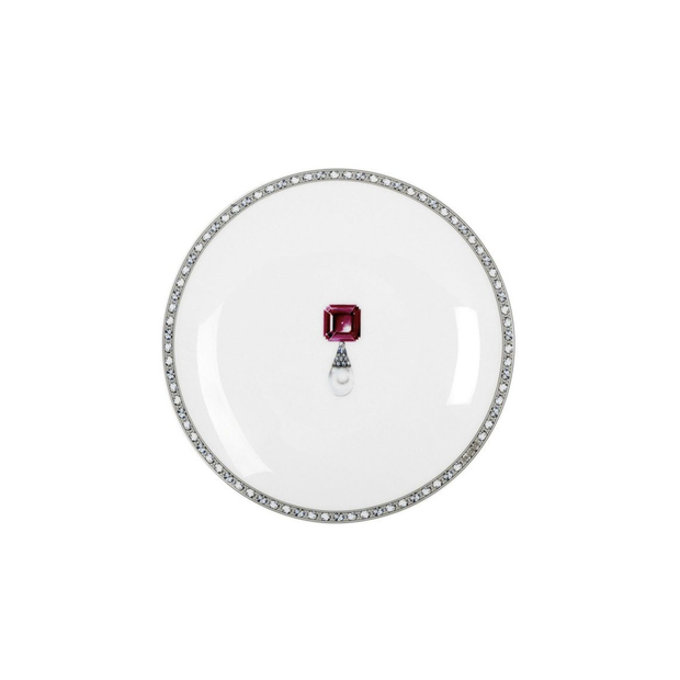 Fradkof Ruby Bread/Butter Plate
