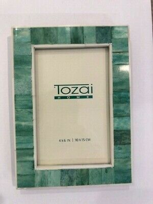 Two's Company Malachite Bone Photo Frame Small - Le Papillon Gallery