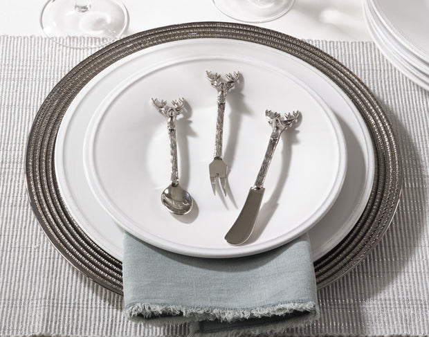 Saro Reindeer Cocktail Spoon Set (set of 4)