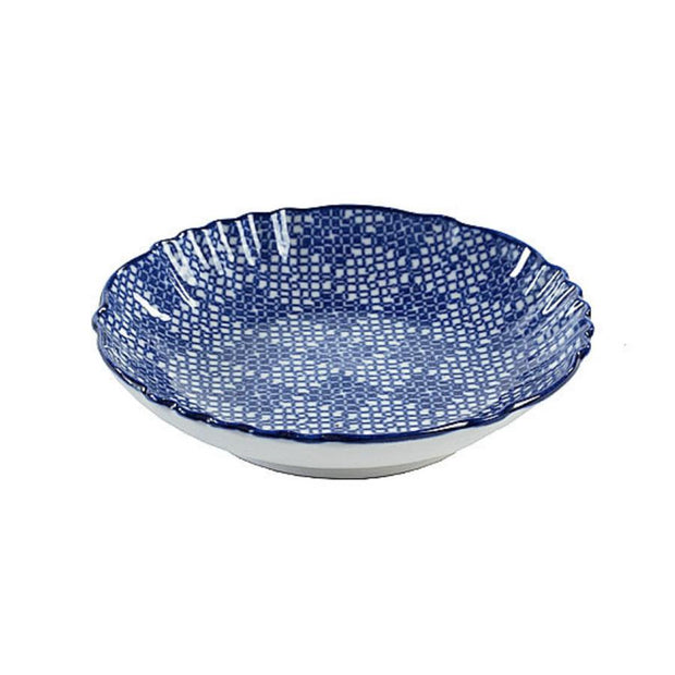 Vagabond Blue and White Dish S4D