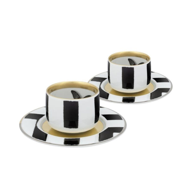 Sol Y Sombra Coffee set of 2 Christian Lacroix - Le Papillon Gallery