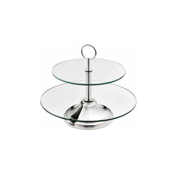 2 TIERED FRUIT BOWL - Le Papillon Gallery