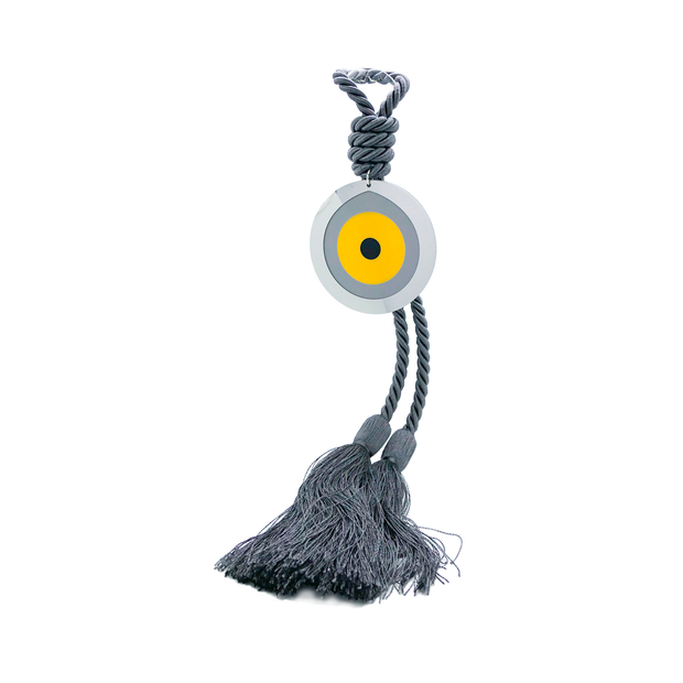Intersilver Long Sunflower Plexi Eye - Grey - Le Papillon Gallery