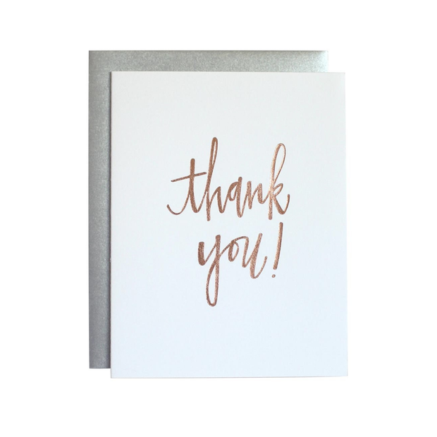 Chez Gagne Thank You Card