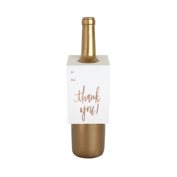 Chez Gagne Wine Tags Thank You