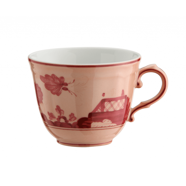 Richard Ginori Oriente Italiano Vermiglio Coffee Cup - Le Papillon Gallery