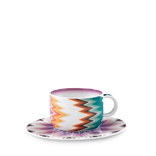 Missoni Zig Zag Teacup - Le Papillon Gallery