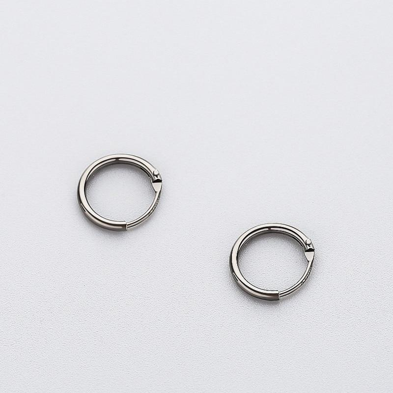 BESTSELLER - Sterling Silver Tiny Hoop Earrings - 925 Real Silver Earrings - Playful Silver Earrings Lux & Rose