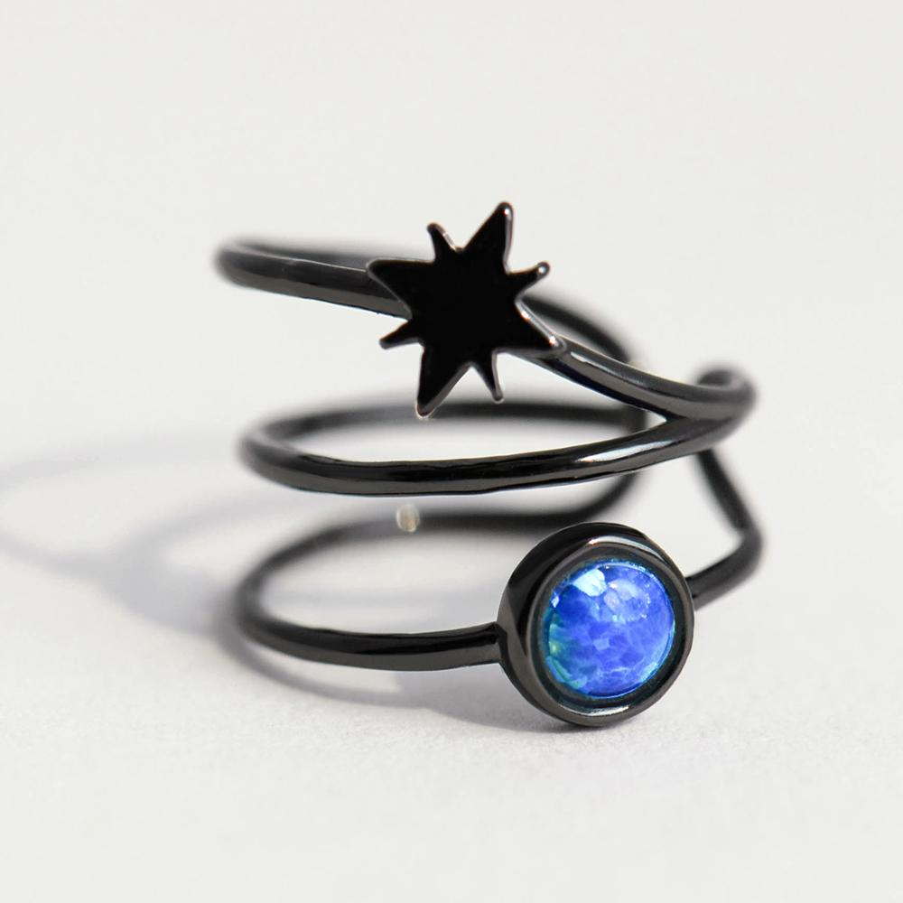 Sterling Silver Asymmetrical Astrograph Clip Earrings - 925 Cuff Earrings - 925 Real Silver Earrings - Playful Silver Earrings Lux & Rose