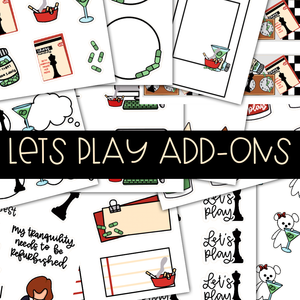 LET'S PLAY ADD-ONS