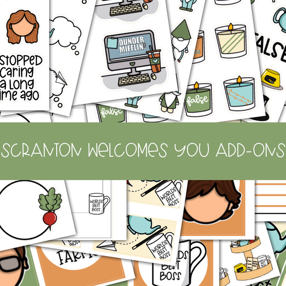 DD563| SCRANTON WELCOMES YOU ADD-ONS