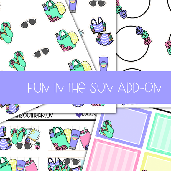 FUN IN THE SUN ADD-ONS