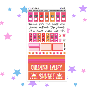 CHERISH EVERY SUNSET HOBONICHI FUNCTIONAL  - HFK002