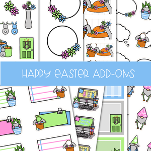 HAPPY EASTER ADD-ONS