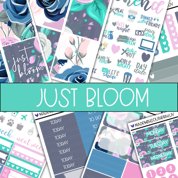 JUST BLOOM MINI KIT BUNDLES